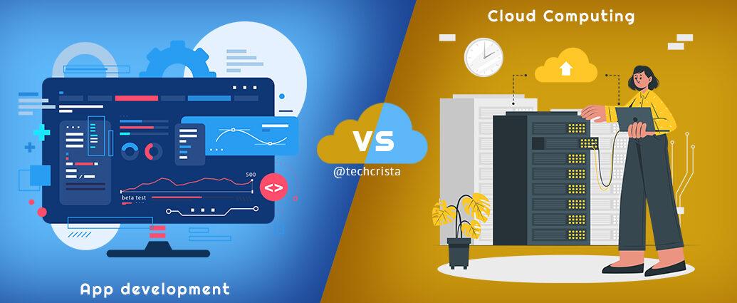 App development vs Cloud Computing